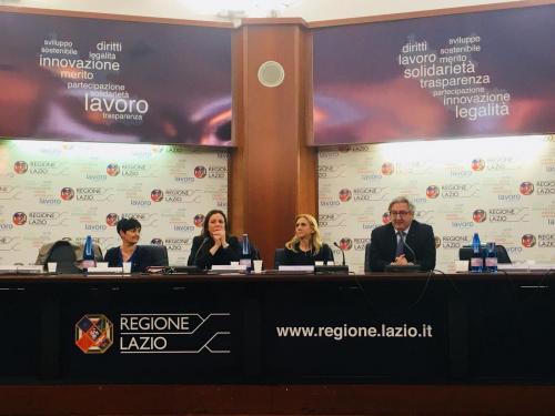Convegno Regione Lazio 13.04.18