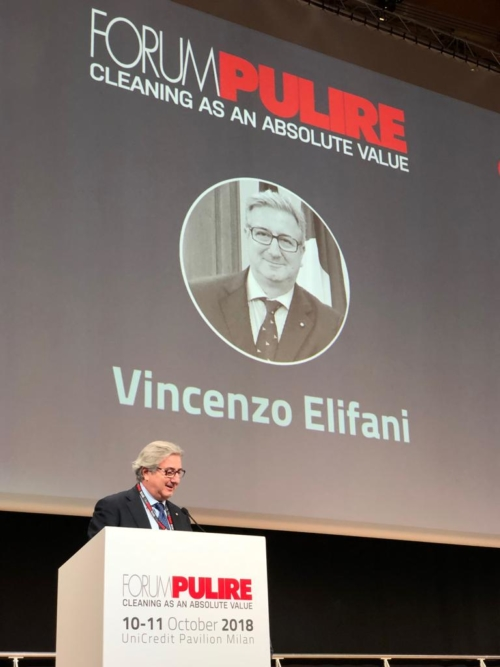 Forum pulire 2018 Vincenzo Elifani
